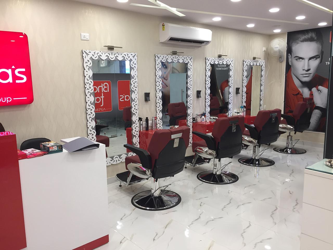 salon interior company in delhi