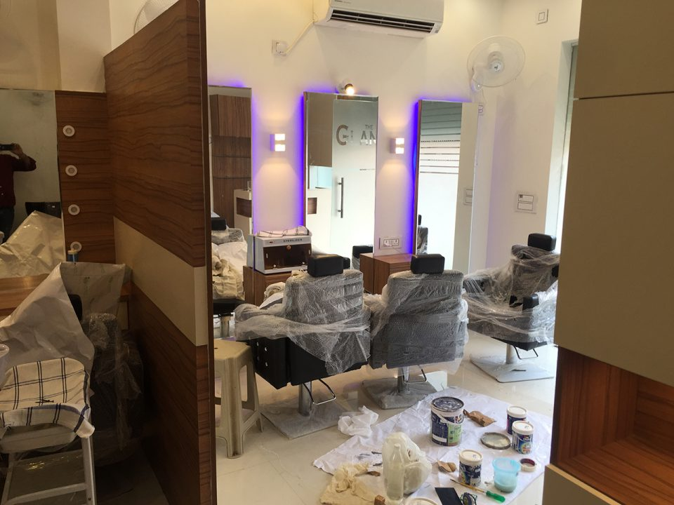 top salon interior designers delhi ncr