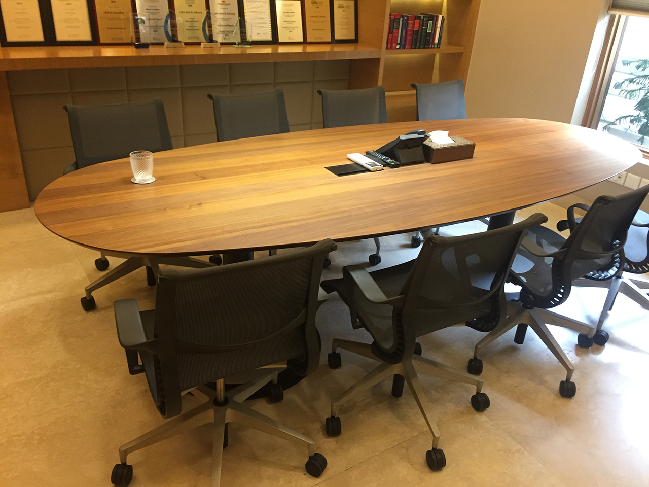 conference and meeting room by office interior designers