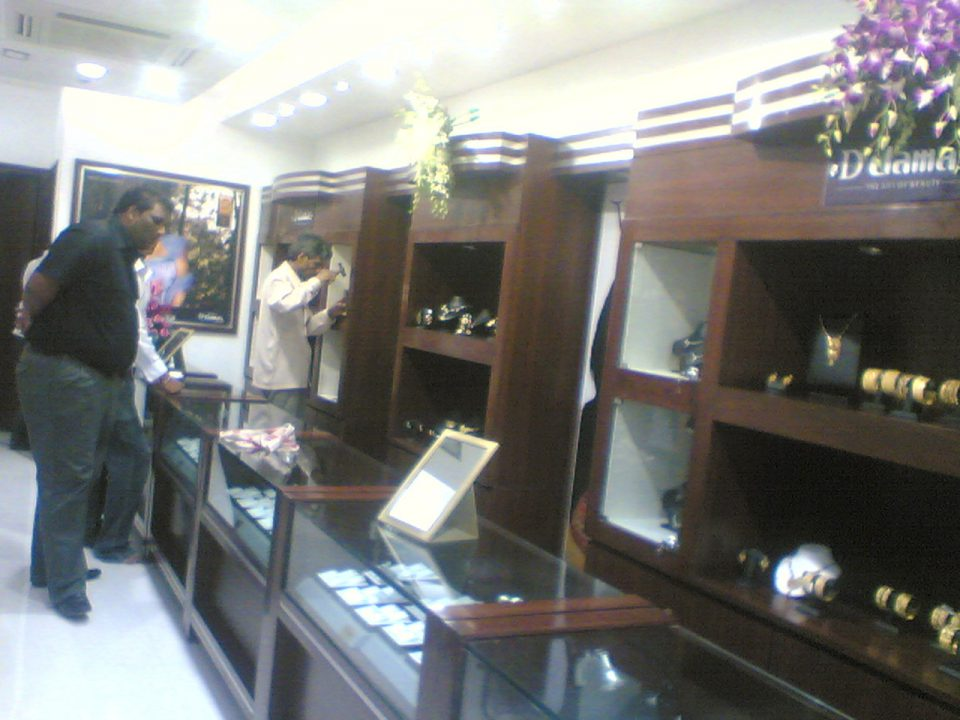 jewellery showroom interior designs