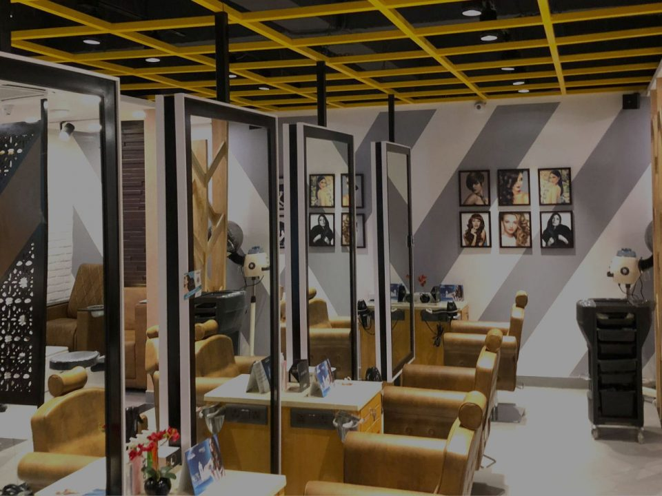 Salon interior designers in Delhi NCR
